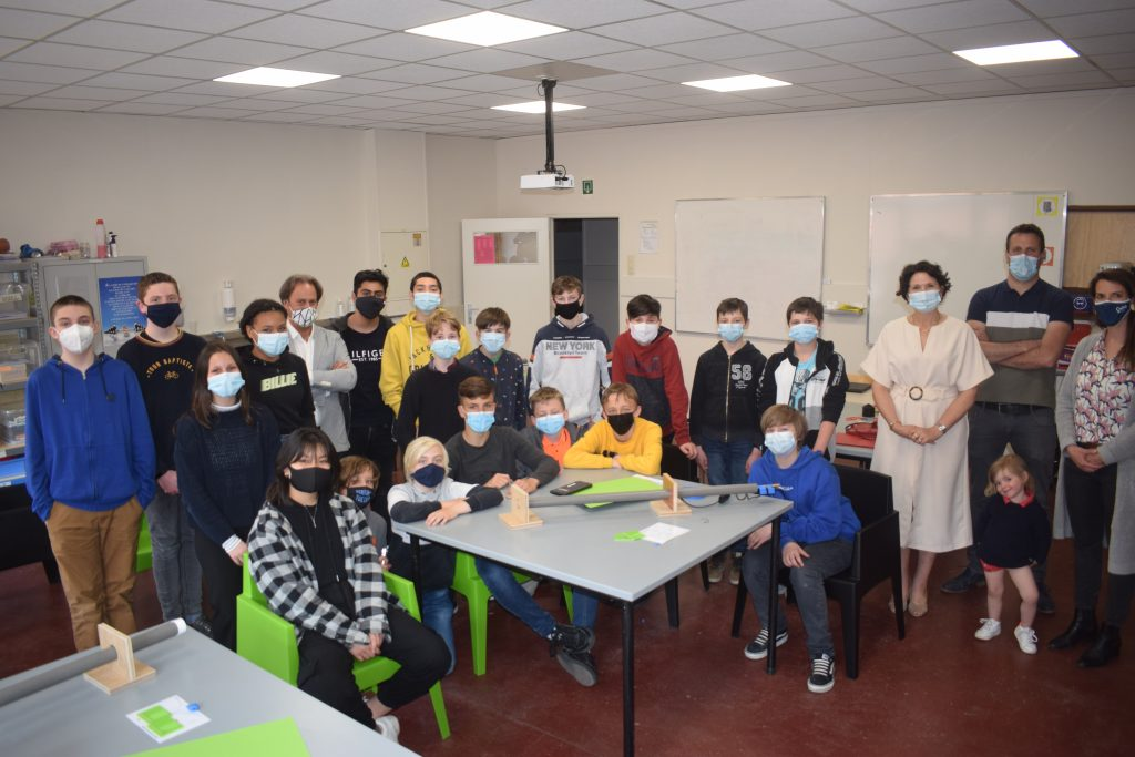 Jongeren proeven van STEM-richtingen dankzij Greenhouse